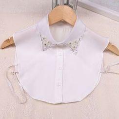 Giyomi - Faux Pearl Decorative Collar