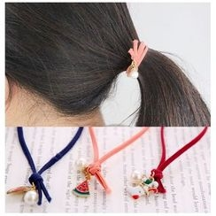 Coolgirl - Pendant Hair Tie (Various Designs)