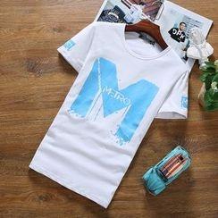 Alvicio - Print Short Sleeve T-Shirt