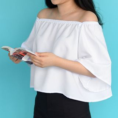MATO - Off-shoulder Short-Sleeve Top