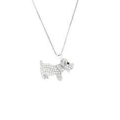 Glamagem - 12生肖动物吊饰 - 忠犬 - 连项链