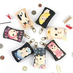 BABOSARANG - 'Choo Choo' Cat Series Coin Purse