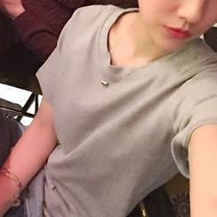 Cloud Nine - 纯色短袖T恤