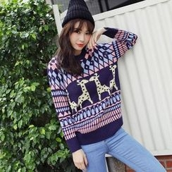 Tokyo Fashion - Printed Sweater