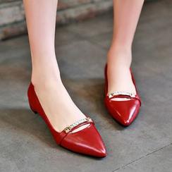 Romantina - 尖頭平跟鞋