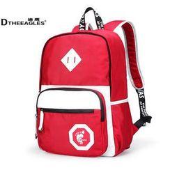 DtheEagles - Color-Block Backpack