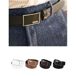 STYLEMAN - Genuine-Leather Belt