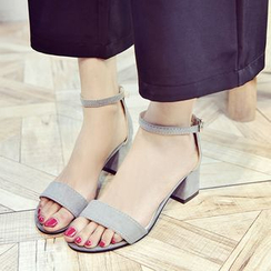 BARCA - Block Heel Sandals