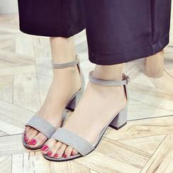 BARCA - 粗跟涼鞋