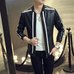 Best Gang - Faux-Leather Jacket