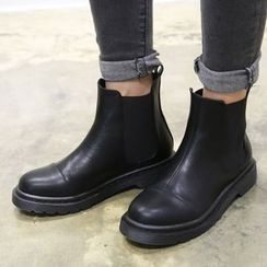 QQ Trend - Gusset Ankle Boots