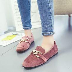 QQ Trend - 链条装饰乐福鞋