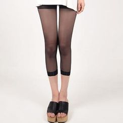 Fitight - Cropped Sheer Leggings