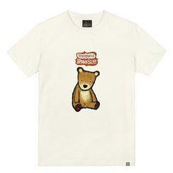 the shirts - Brown Bear Print T-Shirt
