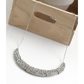 Petit et Belle - Rhinestone Statement Necklace