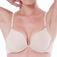 Breeze Comfort - Patented Push-Up Plunge Bra