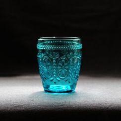 三木青禾 - 浮雕玻璃杯