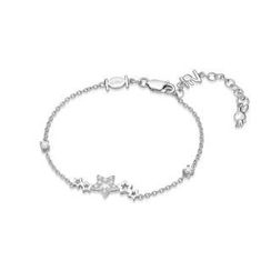 Kenny & co. - 925 Silver Rabbit C. Star Bracelet with Crystal