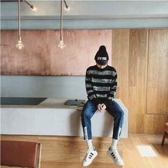 Soulcity - Striped Turtleneck Sweater