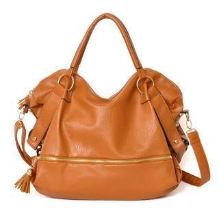 59 Seconds - Tasseled Pulltab Shoulder Bag