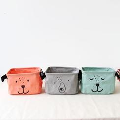 三木青禾 - 印花储物篮