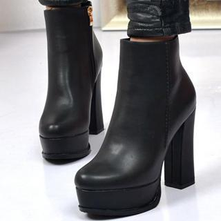 Platform Ankle Boots - Cr Boot