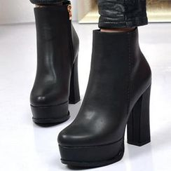 Forkix Boots - 厚底跟踝靴