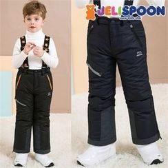 JELISPOON - Boys Suspender Ski Pants