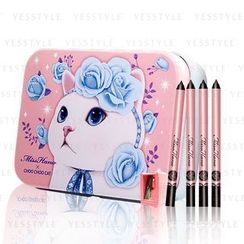 Miss Hana - Choo Choo Cat Magnetic Waterproof Eyeliner Kit