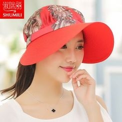 SHUMI - Floral Print Sun Hat