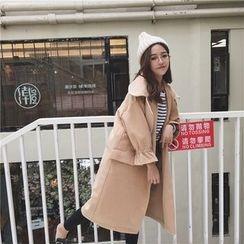 Napkiki - Gather-Cuff Coat