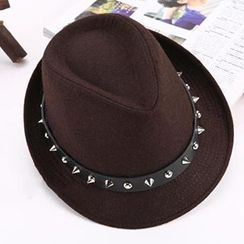 Hats 'n' Tales - Studded Fedora Hat