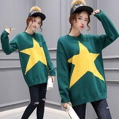 Romantica - Star-Print Sweater
