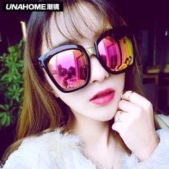 UnaHome Glasses - 粗框镜面太阳镜