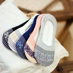 Socka - 民族风纯棉船袜