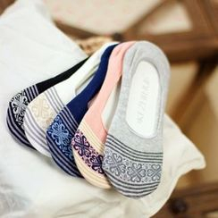 Socka - Ethnic-Print No-Show Socks