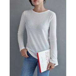 STYLEBYYAM - Round-Neck T-Shirt
