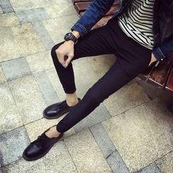 Breeson - 純色窄身褲