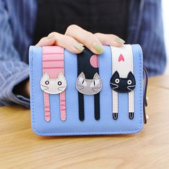 Rinka Doll - Cat Zip Wallet