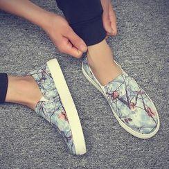 Araeo - Printed Slip-Ons