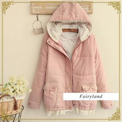 Fairyland - Lace-Trim Hooded Jacket