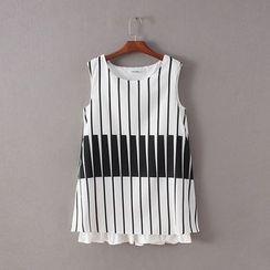 Ainvyi - Striped Sleeveless Dress