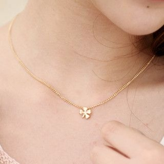 59 Seconds - Four-Leaf Clover Necklace
