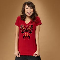 Bolt Concepts - Chinese Opera Mask T-shirt