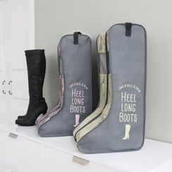 iswas - Patterned Heel Long Boot Organizer