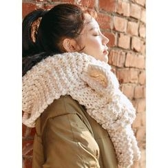 icecream12 - Chunky-Knit Scarf
