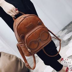 della renna - Faux Leather Backpack