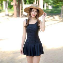 rosiwini - Plain Swim Dress
