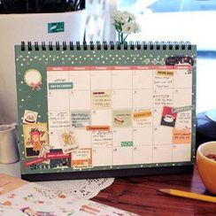 Homey House - Printed Desk Calendar (M)