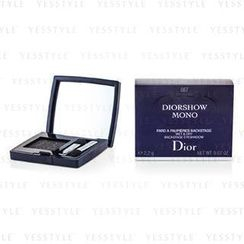 Christian Dior - Diorshow Mono Wet and Dry Backstage Eyeshadow - # 087 Black